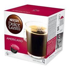 96 CIALDE CAPSULE NESCAFE' DOLCE GUSTO CAFFE' AMERICANO ORIGINALI