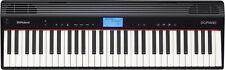Keyboard Roland Digitalpiano Tasteninstrument elektrisch 61  Tasten schwarz
