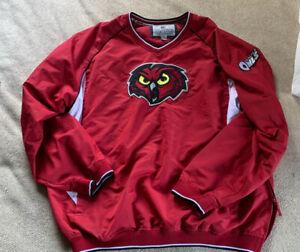 Temple University Owls Golf Pullover Colosseum Athletics XXL Cherry Red BIN