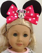 "Mickey Mouse Ears for American Girl Doll 18"" Accessories"