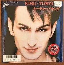 """King – Torture / Groovin' With The Kings Japan Promo 7"""" Vinyl Epic – 07 5P-432"""