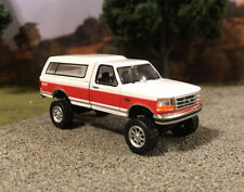 1992 Ford F-150 4x4 Truck Lifted 1/64 Diecast Custom Farm Off Road Mudder 4WD