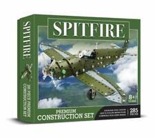 Spitfire Plane Premium Steel Construction Set 285 Pcs Brand New Gift Idea Model