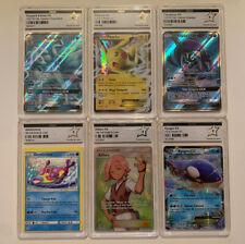 Lot de 6 cartes Pokémon - PCA 9 - Pikachu Ex, Denticrisse Miscut etc...