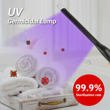 Portable LED UV Wand UVC Disinfection Lamp Germicidal Sterilizer Light USB 10W
