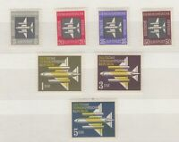 Germany DDR 1957 Airmail Set MH J6526