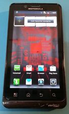 Motorola Droid Bionic 16GB Black (Verizon) Clean MEID Good Condition GREAT DEAL!