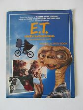 E. T. The Extra Terrestrial in His Adventure on Earth Picture Activity Book 1982
