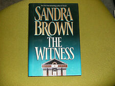 SANDRA BROWN SIGNED THE WITNESS