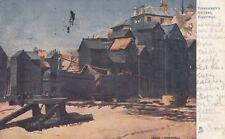 TUCK :QUAINT CORNERS- Fishermen's Stores,Hastings  -F.EMANUEL-ART 1173