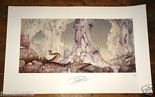 YES RELAYER ART PRINT ~ HAND SIGNED BY JON ANDERSON ~PLATE SIGNED BY ROGER DEAN