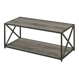 Convenience Concepts Tucson Coffee Table, Weathered Gray - 161842WGY