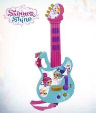 Shimmer & Shine Kindergitarren Musikinstrument Gitarre Spielzeug 3524  B-WARE