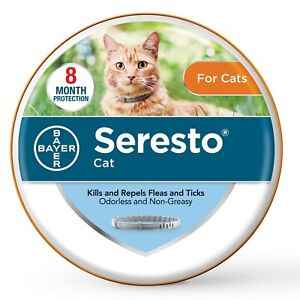 Seresto 8 Month Protection Flea and Tick Collar for Cat