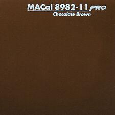 50 m (3,00 € /m) Klebefolie, Selbstklebefolie nussbraun matt 61,5 cm
