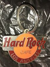 Hard Rock Cafe Los Angeles Key Tag Fob Chain LA
