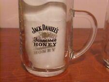 Pair of Jack Daniels Tennessee Honey Tankard Glasses.