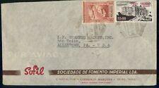 MOCAMBIQUE AD 1947 COVER LOURENCO MARQUES SOFIL LDA kkm76771