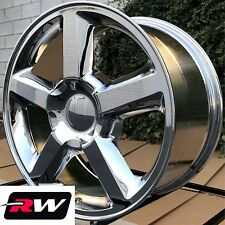 "20"" inch 20 x8.5"" Wheels for Chevy Avalanche LTZ Chrome Rims"