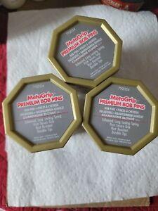 3 Box's Of MetaGrip Premium Hair Pins, Blonde