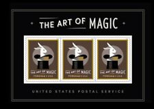 2018 US Stamp - The Art of Magic Souvenir Sheet - Scott# 5306a