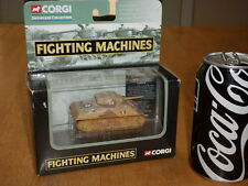 CORGI TOYS, WW#2, BRITISH, M4 SHERMAN TANK - 7th Armoured Div., Diecast Toy,1/80