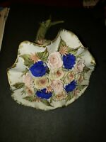 Vintage Porcelain Flower Bouquet Capodimonte Made in Italy
