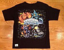 #94 Skylanders  Boys Size Large 14/16 Black Short Sleeve T-Shirt Crusher