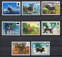 35853) Poland 1973 MNH Hunting Committee Congress 8v