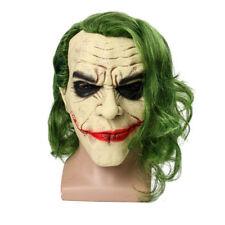 The Joker Cosplay Halloween Masks Full Mask Cowl Adult Batman Mask With Wig