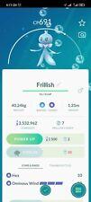 Frillish-精 灵宝可梦贸易 go-贸易 精灵宝可梦 frillish 最佳排名 20