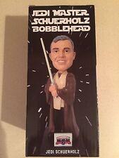 Jedi Master John Schuerholz Bobblehead Atlanta Braves 7/1/16 Mint Condition HOF