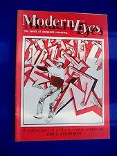 Modern Eyes: UK small press  alternative comic.  Paul Johnson.