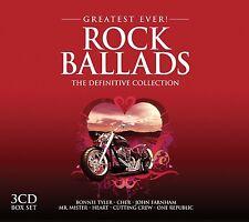 ROCK BALLADS GREATEST EVER (BRYAN ADAMS, SIMPLE MINDS, CHER, ...) 3 CD NEU