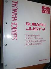 Subaru JUSTY 2000 : schémas électriques