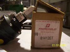 FAIRCHILD MULTISTAGE PRESSURE REGULATOR  PN:  81412ET