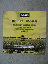 Oasis - Time Flies 1994 - 2009 YELLOW - Square Poster