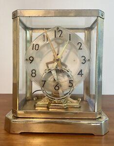 Mid Century Modern 50's United Clock UNITIME Mod. 999 Mantel Desk Clock Tested