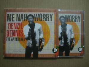 DENZIL DENNIS Me Nah Worry: The Anthology UK 2 x CD 2003 - TJDDD148 - REGGAE