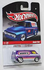 Hot Wheels Delivery Slick Rides Super Van Wynn's Purple REAL RIDERS 1:64