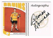 2004-05 ITG Franchises US East Autograph #A-BHV Bronco Horvath