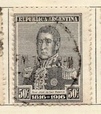 Argentine Republic 1916 Early Issue Fine Used 50c. 183026
