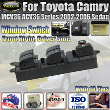 For Toyota Camry 2002-2006 Saloon MCV36 ACV36 Serirs Master Power Window Switch