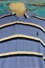 Polo Ralph Lauren Men's Polo Shirt Size XL Striped Cotton XL Cool Colorful