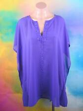 "MILLERS SIZE 18 PLUS WOMANS, PURPLE GRAPE BEADED BLOUSE ""NEW"""