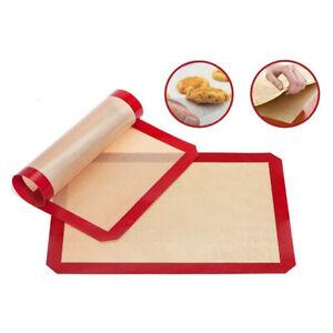 Silicone Baking Mat Fibreglass Non-Stick Reusable Oven Sheet Liner for Baking LI