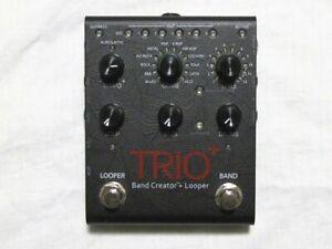 Used DigiTech Trio+ Band Creator Plus Looper Guitar Effects Pedal Trio +