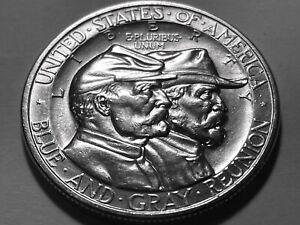1936 Gettysburg Commemorative Silver Half Dollar * Gem BU *