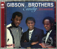GIBSON BROTHERS - EMILY 2 CD - REMASTERED 2015 - ORIGINAL LP + 13 BONUS - MAXIS