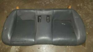 1995-1999 Mitsubishi Eclipse Talon Gray Leather Rear Back Seat Assembly DSM b
